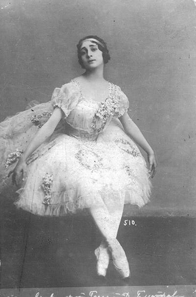 リインスキー・バレエ時代。