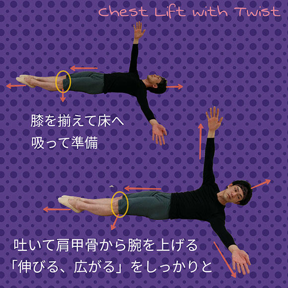 「One side Chest Lift」