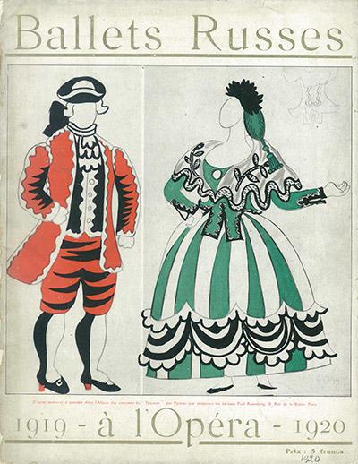 表紙『三角帽子』の衣装デザイン