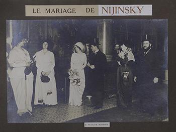 ニジンスキーとロモラ・ド・プルスカの結婚式