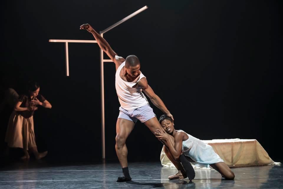 José Alvez  with Cira Robinson in THE SUIT (C)Bill Cooper.jpg