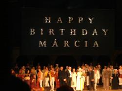 マリシアハイデの70歳記念公演