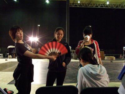 日本人ダンサーたち