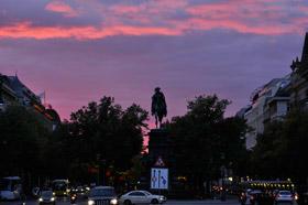 ある日のベルリンの空