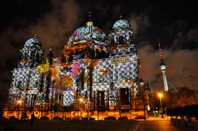 ベルリンで毎年恒例の「ライト・フェスティバル」