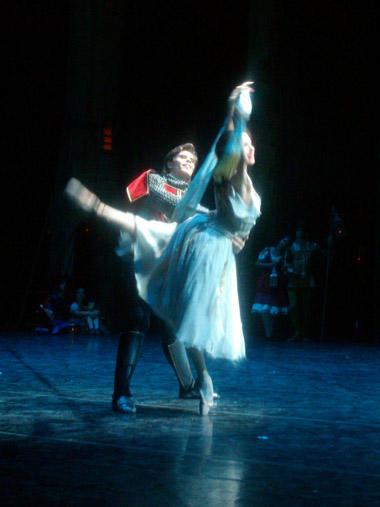 『エスメラルダ』ボリショイからのゲストとヤナ・サレンコ