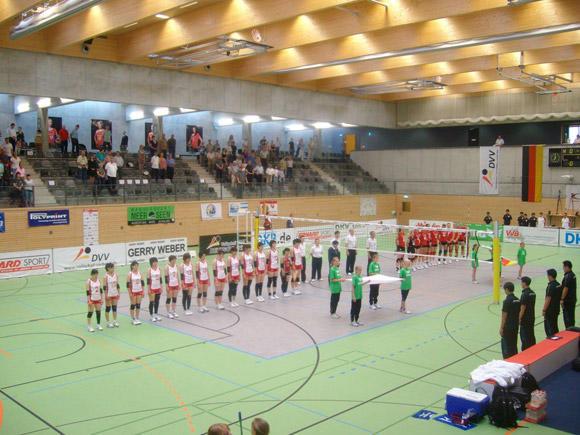 国際交流試合ドイツ対日本 バレーボール