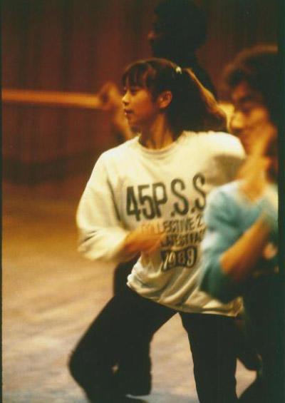 15、6歳の頃。劇団四季リハーサル