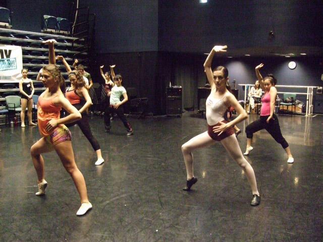 ダンスのクラス