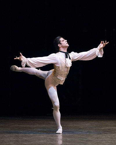 『マノン』 Marcelo Gomes in Manon - photo : (C) Gene Schiavone