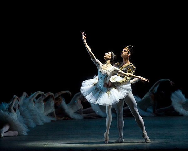 「ラ・バヤデール」ヴィシニョーワと Marcelo Gomes and Diana Vishneva in La Bayadere - photo : (C) Gene Schiavone