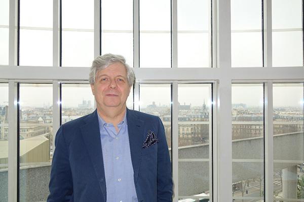 パリ・オペラ座総監督ステファン・リスナー (C) 三光洋