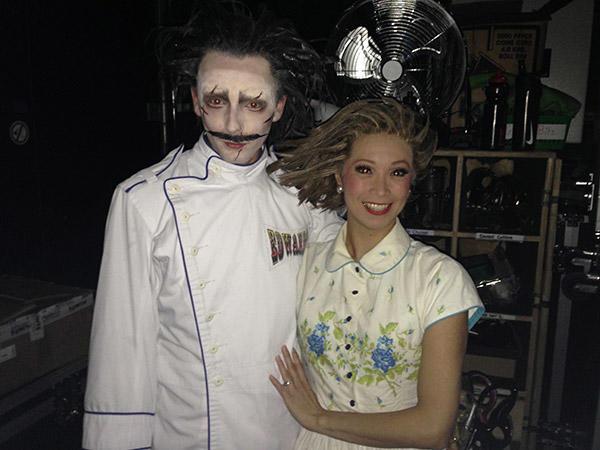 エドワード役はミュージカル「ビリーエリオット」の 主役の一人、Liam Mower.