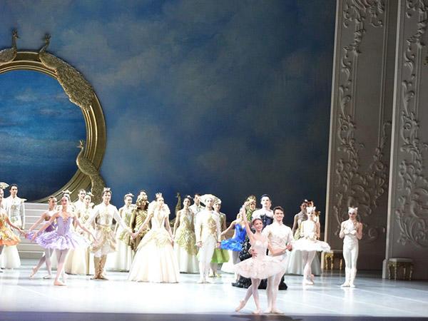 ベルリン国立バレエ『眠れる森の美女』終演後 (C)Emi Hariyama