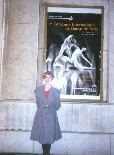 1996年 パリ国際ダンスコンクール (C) Emi Hariyama