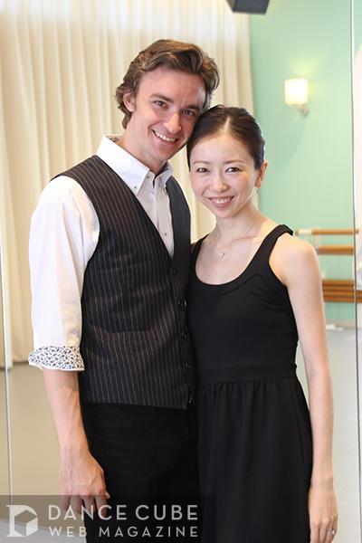 【開幕直前インタビュー】 加治屋百合子&ジャレッド・マシューズが語る「バレエを踊ってハッピーに生きよう!」
