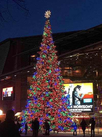 クリスマスマーケット Photo:Emi Hariyama