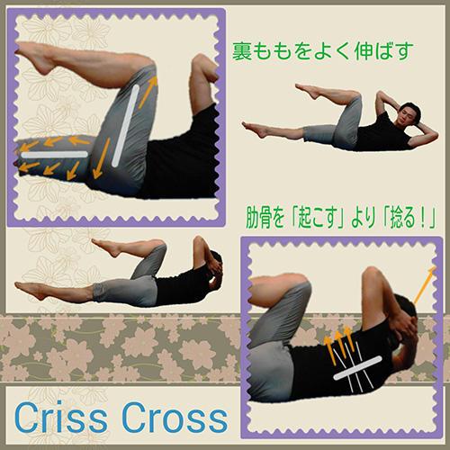 「クリスクロス」