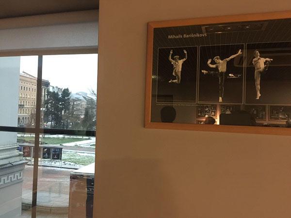 バリシニコフもこのバレエ学校出身 Photo:Emi Hariyama