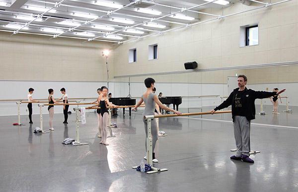 NHKバレエの饗宴2016」リハーサル