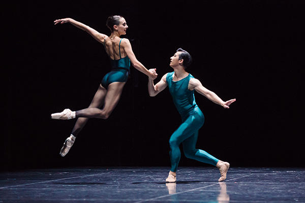 """In The Middle"" Dimity Azoury & Chengwu Guo Photo by Daniel Boud"