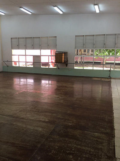 キューババレエ学校のスタジオ