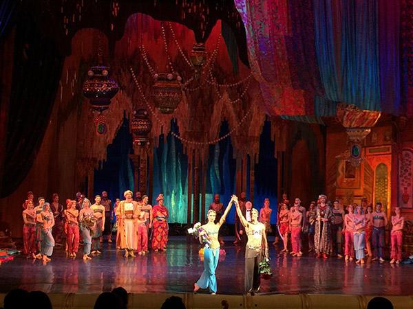 キエフ国立バレエ団「シェヘラザード」