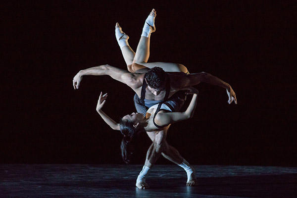 "TAB ""FASTER"" Andrew Killian & Ako Kondo photo by Daniel Boud"