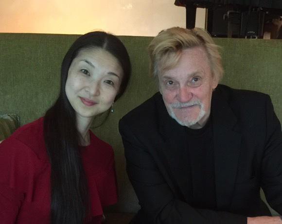 ウラジーミル・ワシリエフと (C)Emi Hariyama(すべて)
