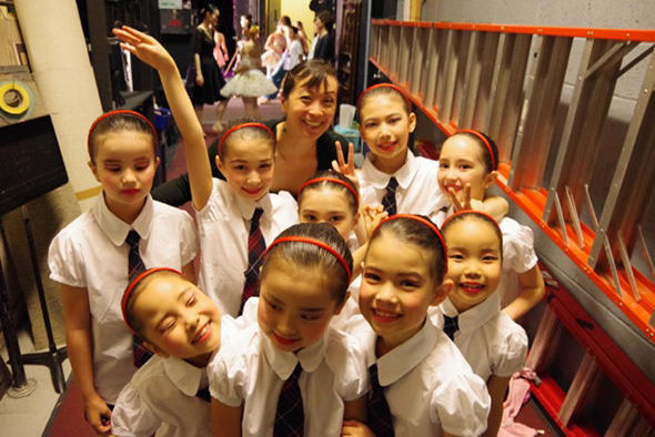 Hariyama Balletの発表会 キッズジャス