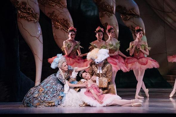 TAB Sleeping Beauty, Lana Jones & Artist of the Australian Ballet, Photo Daniel Boud
