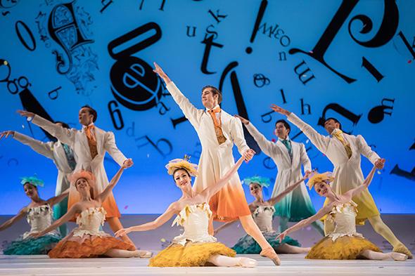 TAB Alice's Adventures in Wonderland, Rena Nemoto, Rohan Furnell & Artist of the Australian Ballet, Photo Daniel Boud