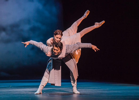 The Winter's Tale. Ryoichi Hirano as Leontes and Lauren Cuthbertson as Hermione. 1804RHO_hirano05.jpg