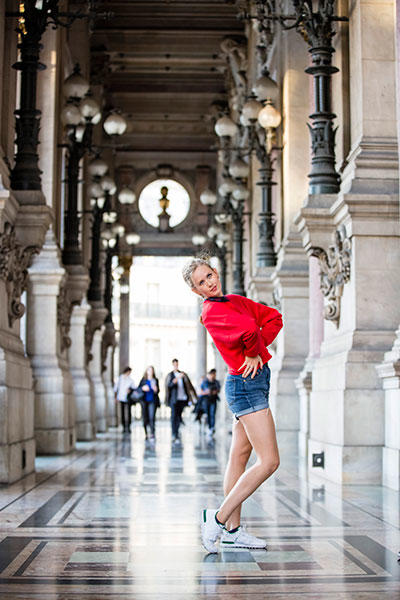 「20世紀のための20人のダンター」キャロリーヌ・オスモン photo Agathe Poupeney/ Opéra national de Paris
