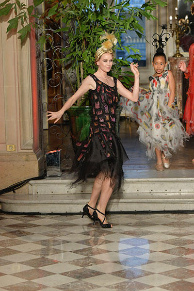 フランク・ソルビエ・クチュール・ショー photo Piero Biasion / Franck Sorbier Haute Couture