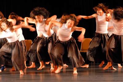 神戸女学院舞踊学科第一回公演リハーサルより