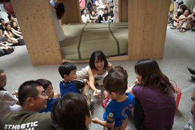 愛知県美術館の「愉しき「家」」展関連企画<息づく家>