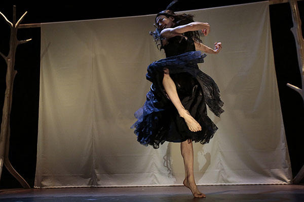 劇的舞踊『カルメン』(2014年) 撮影:篠山紀信