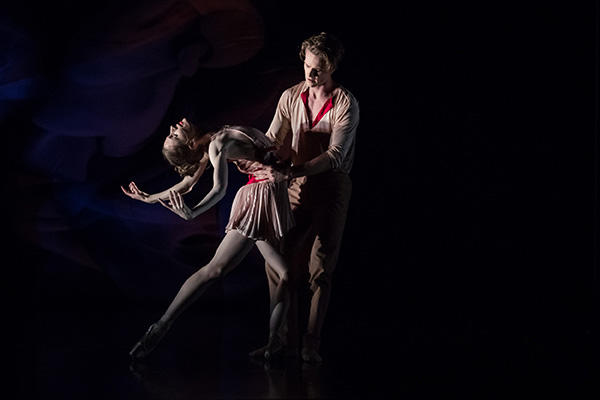 """Scent of Love"" Amanda McGuigan & Christopher Rodgers-Wilson Photo by Daniel Boud"