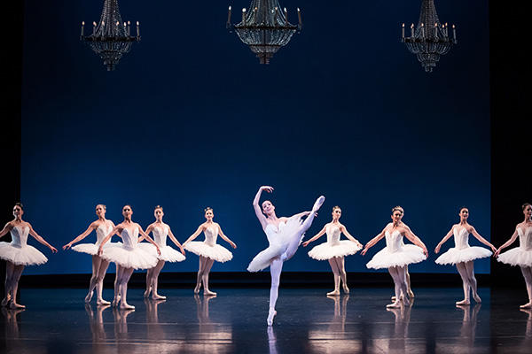 """Symphony in C"" Leanne Stojmenov Artists of The Australian Ballet Photo Daniel Boud"