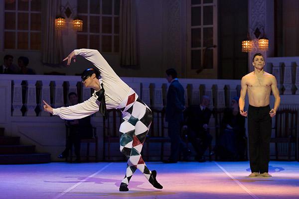 """オーストラリアバレエ団『ニジンスキー』 AB """"Nijinsky"""" Chengwu Guo & Kevin Jackson, photo by Wendell Teodoro"""