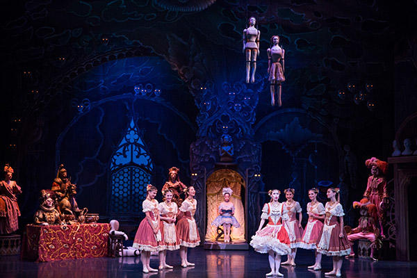 "AB ""Coppélia"" Dancers of the Australian Ballet, photo by Daniel Boud"