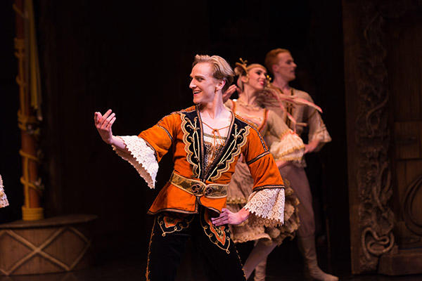 "AB ""Coppélia"" David Hallberg, photo by Kate Longley"