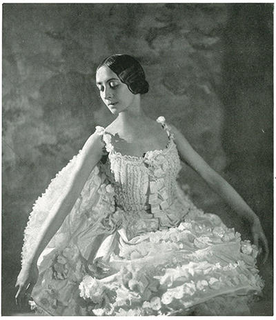 1927年5月パリのサラ・ベルナール劇場でのバレエ・リュス公演プログラムより