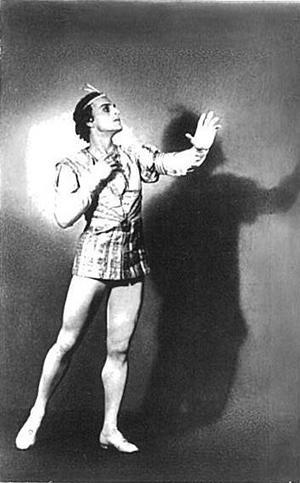 王子を演じるウラジーミル・プレオブラジェンスキー(1912-1981)
