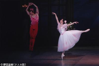 越智實傘寿 祝賀バレエコンサート 『薔薇の精』越智久美子・越智友則