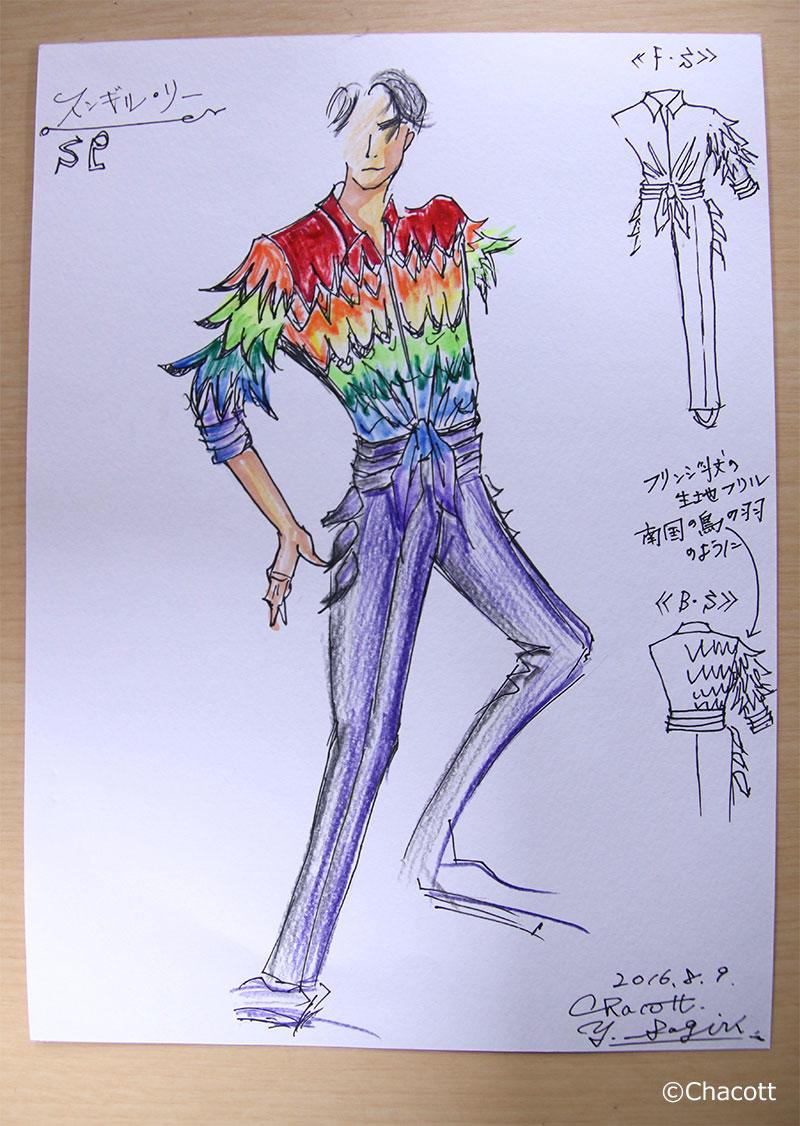 【ユーリ!!! on ICE × Chacott】 衣裳デザインの裏側 <第7回>