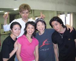 左から、西 祐子さん、西島 千博さん 私、後藤 早知子先生、能美 健志さん