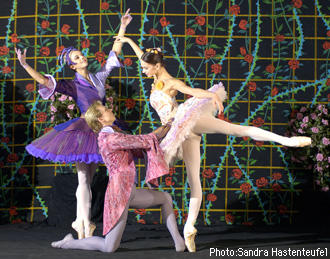 ベルリン国立バレエ団『眠れるの森の美女』 ヴィアラ・ナチェーワ ウラジミール・マラーホフ/ポリーナ・セミョーノワ