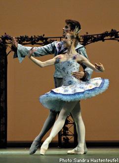 ベルリン国立バレエ団『眠れる森の美女』 ナディア・サイダコワ/ロナルド・サフコービッチ